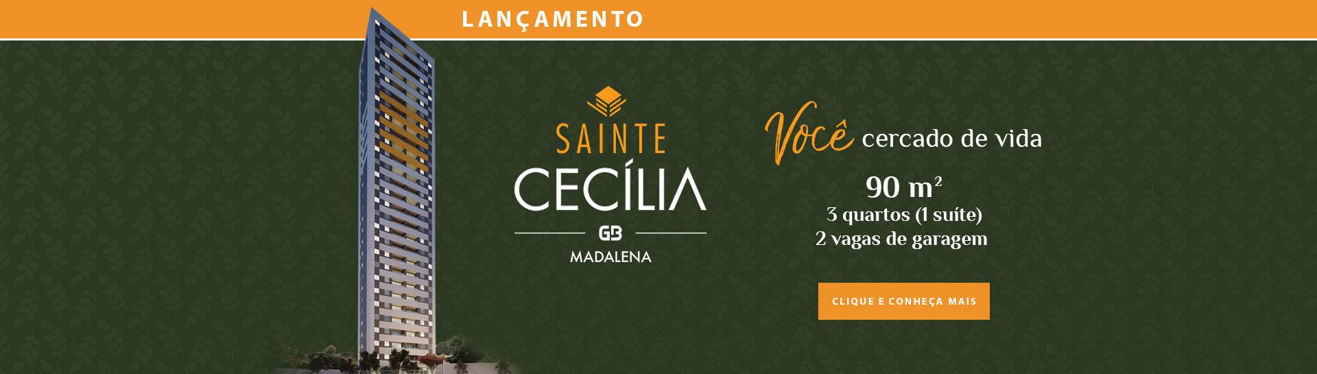 Lançamento<br /> Sainte Cecília